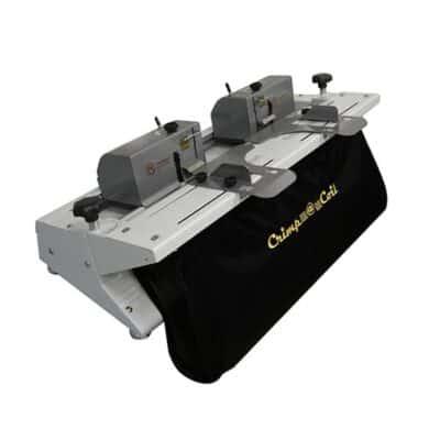 Crimp a Coil Binding Machine