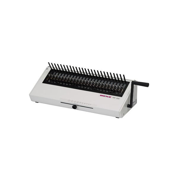 Renz PBS 340 Comb Binding Machine