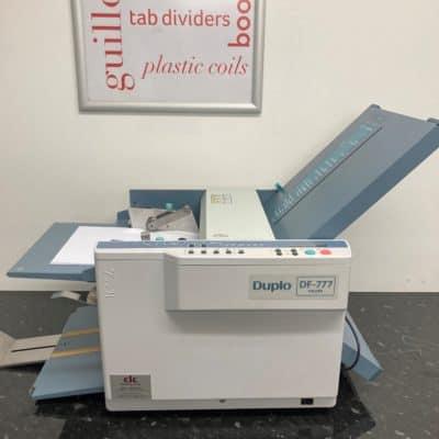 Duplo DF-777 Folding Machine